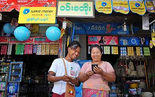 """蚂蚁集团与Wave Money共同打造缅甸版""""支付宝"""",助力当地享受数字技术红利"""