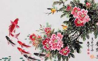 客厅适合挂什么画 一幅美哒哒的花鸟画不能少哦