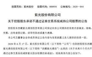 紫光宣布不再减持股票,债务问题得到初步解决