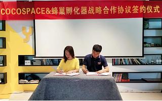 蜂巢孵化器与可可空间投资(上海)有限公司签订战略合作协议