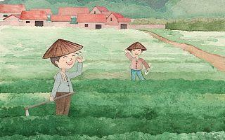 11岁男孩帮干农活被网友狂赞!你家孩子的暑假被夸了吗?
