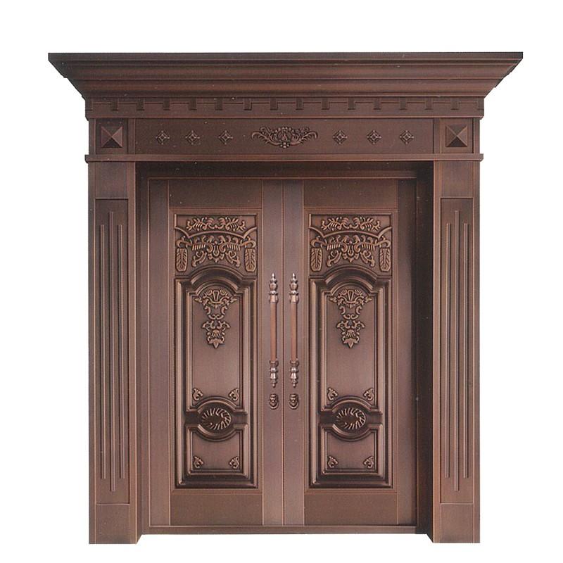 上海御筑铜艺丨铜门定制时的注意事项