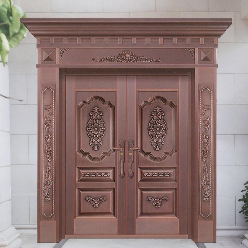 上海御筑铜艺丨不是所有的铜门都是好门