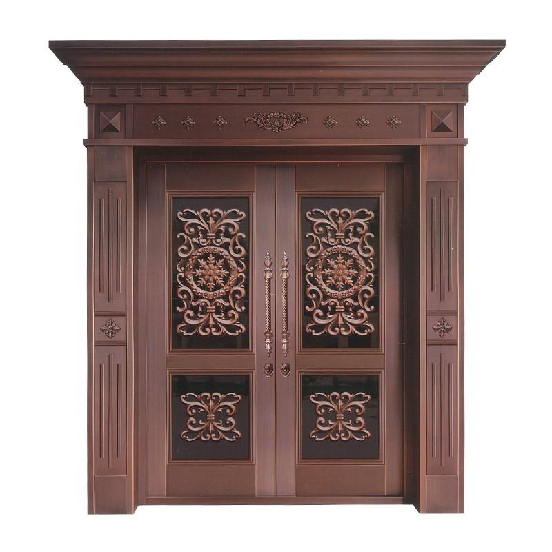 上海御筑铜艺丨铜铝楼梯栏杆让家里更有格调