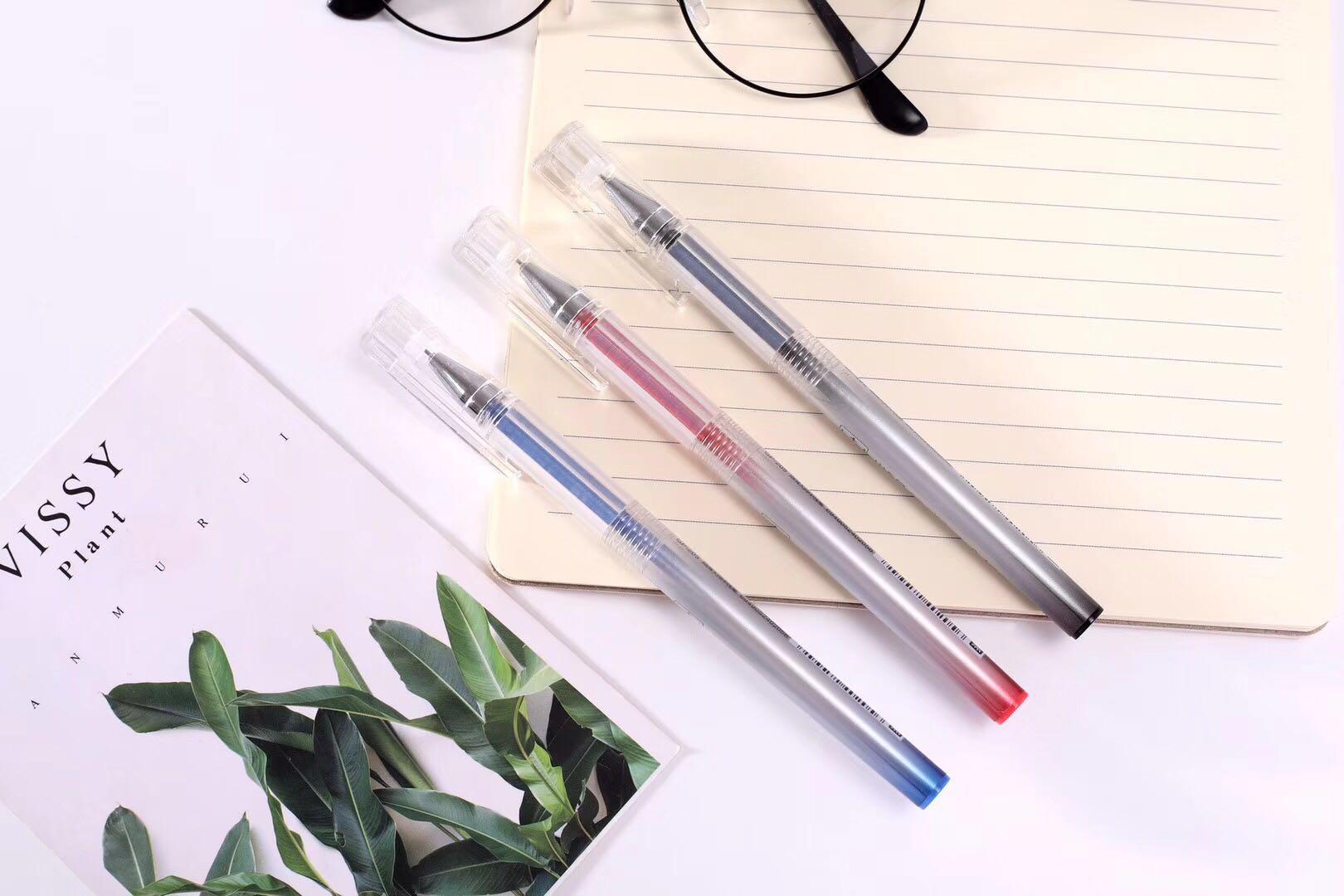 万帮W&B丨中性笔的全针管,子弹头,葫芦头有何区别?