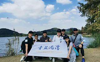 益步迈入廿载 百华湘约未来   青蓝港湾队代表贝壳社顺利完成在湘举行的募捐图书角大型公益活动
