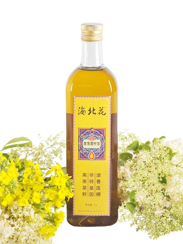 海北花菜籽油为您简介菜籽油的功效与食用
