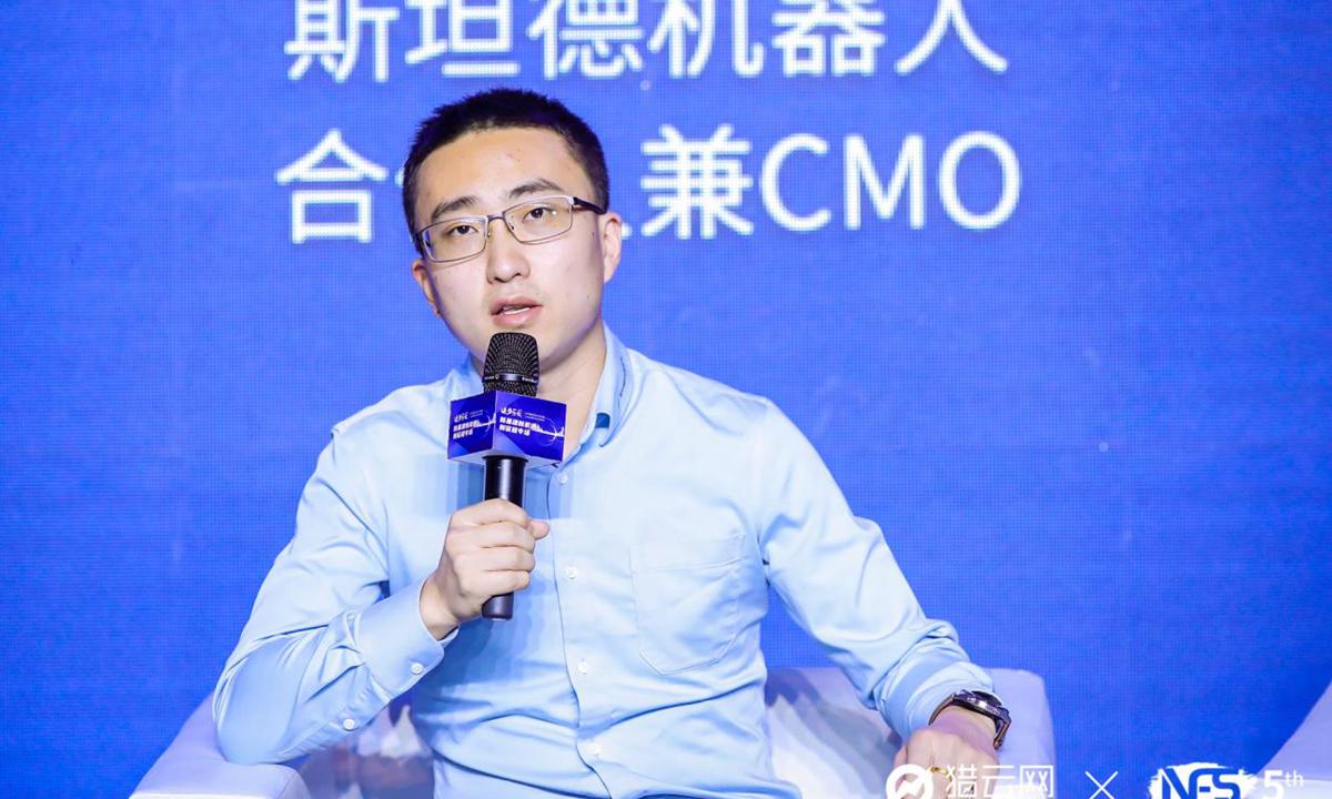 施泰纳机器人合伙人与CMO王茂林:人是公司发展的基础 大多数公司死于合伙人