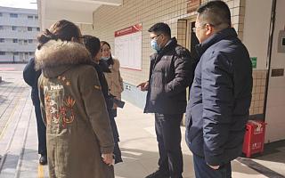 四川天府新区社区治理和社事局党组成员、副局长杨远东调研永兴中学
