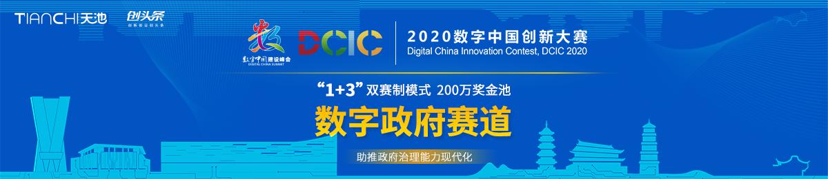2020数字中国创新大赛-数字政府赛道