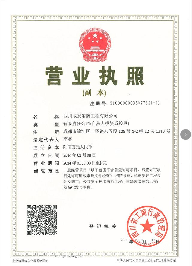 四川成发消防工程有限公司