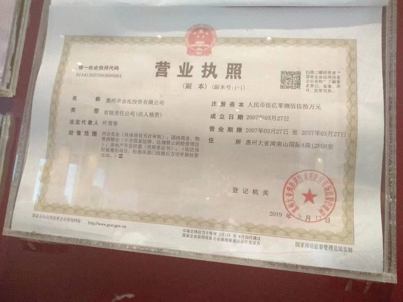 惠州市金泓投资有限公司