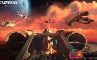 第一人称太空射击游戏《星球大战:Squadrons》即将上线