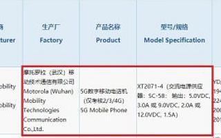 翻盖回归,搭载骁龙765的摩托罗拉新折屏手机Razr 5G获3C认证