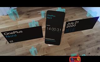 一加将通过AR展示最新款智能手机OnePlus Nord