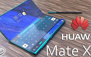据传三星将为华为Mate X2提供8.3英寸折叠屏,销售目标为前代十倍