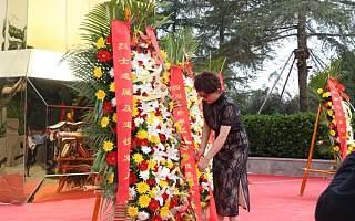 四川天府新区举行向英雄烈士敬献花篮仪式