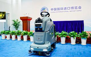 珊口智能全球首款视觉 AI 清洁机器人在进博会首发