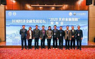 """区域经济金融发展论坛暨""""2020天府金融指数""""发布会顺利举行"""