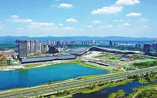 """四川天府新区站上新的历史起点—— 不断蓄势蝶变,为""""未来城市""""画像"""