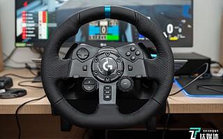 云开车体验从未如此真实,罗技G923模拟赛车方向盘评测   钛极客