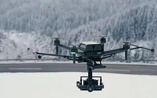 索尼展示用于专业摄影领域的 Airpeak 无人机