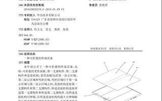 """2.1虎哥晚报:华为折叠屏专利或消灭折痕;抖音回应""""全面闭环"""""""