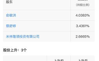俞敏洪退出大街网运营企业,美图关联公司增持后者股份