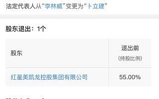 红星美凯龙退出华戏文化,退出前持股55%