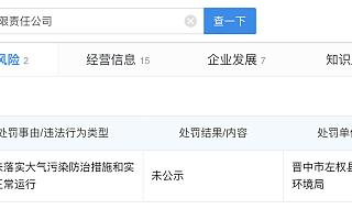 山西华阳集团石港煤业发生安全事故