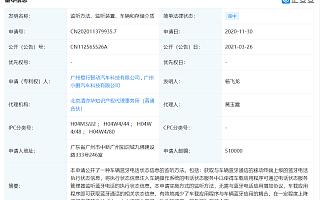 """小鹏汽车关联公司公开""""监听方法、装置""""相关专利"""