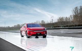 比亚迪、博世联合发布电动汽车专用dTCS,让不打滑成为「本能」