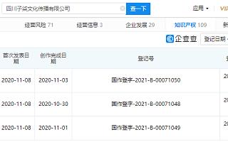 李子柒关联公司登记多条音乐类作品著作权
