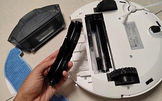 宜宝 Neabot Q11,可以自动集尘的扫拖一体智能扫地机