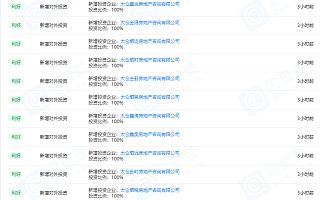 """金地集团两日内""""批量""""成立15家房地产咨询公司"""