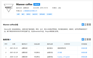 """新锐咖啡品牌""""Manner""""完成新一轮数亿美元融资,美团龙珠独家投资"""