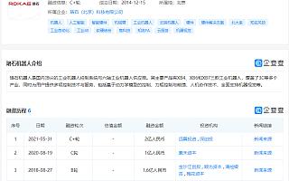 """轻型机器人企业""""珞石机器人""""完成2亿元C+轮融资"""
