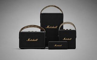 MARSHALL 两大传奇产品 KILBURN II 和 TUFTON 便携音箱加入 BLACK AND BRASS 标志性配色系列