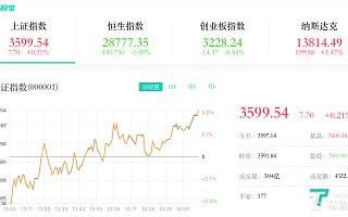 6月7日A股分析:科技股全天活跃,三大指数涨跌不一
