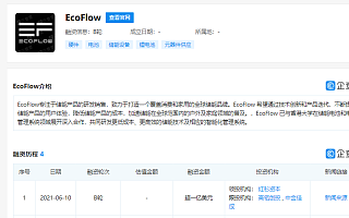 EcoFlow正浩获过亿美元B轮融资,红杉资本中国基金领投