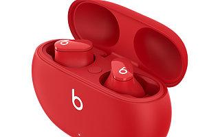 售价 1099 元的 Beats Studio Buds 真无线降噪耳机正式登场