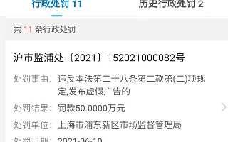 大公司动态∣盒马因发布虚假广告被罚50万;乐视网拍卖580项商标,成交价1603万元