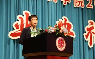 水滴创始人沈鹏中国政法大学演讲:趁年轻多折腾,奋斗才有机会