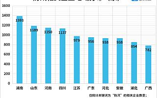 防汛进行时!今年上半年新增防汛企业362家,湖南防汛企业最多