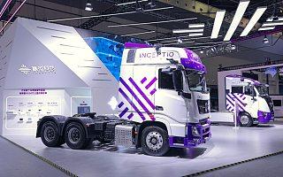 货运机器人来了!嬴彻科技年底两款量产车型下线 WAIC 2021