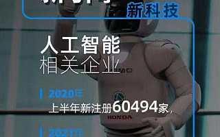 人工智能相关企业上半年注册量同比上涨149.5%,广东企业最多