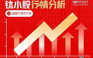 7月19日A股分析:两市成交额继续减少,创业板指涨近0.5%