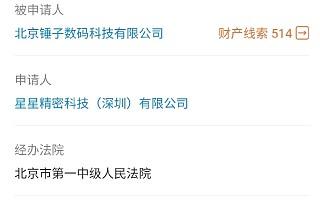 """北京锤子数码科技被申请破产重整,罗永浩回应""""破产流程已撤回"""""""