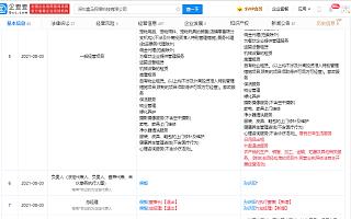 深圳盒马董事长侯毅退出,经营范围新增日用品出租等