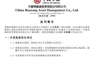 中国华融2020年预亏1029亿元,拟引入中信集团等5家战略投资者